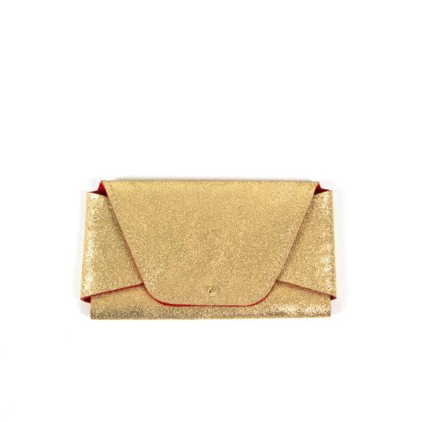 Lou pochette en cuir fabrication française
